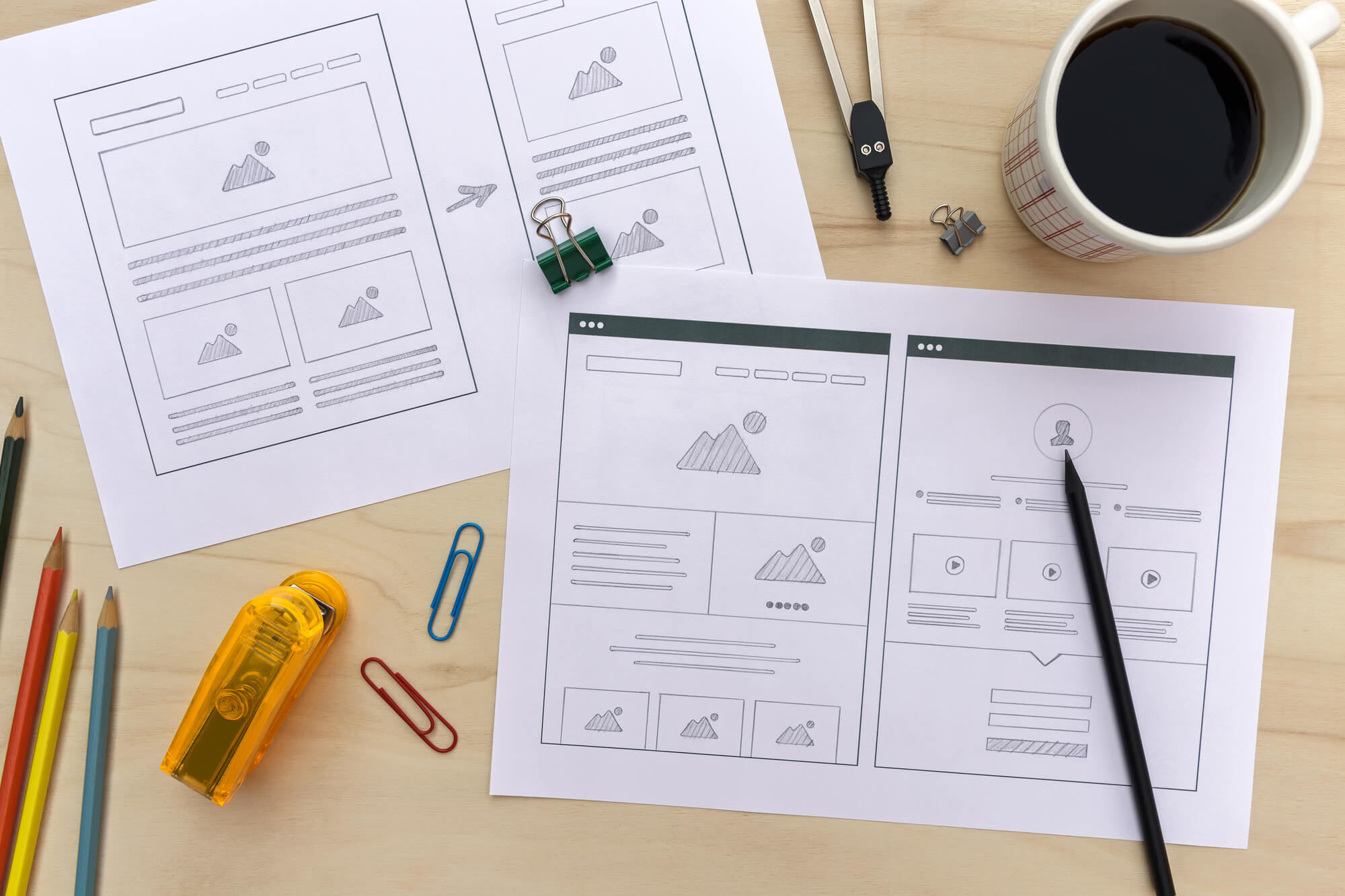 What Is a Wireframe? The Top Way to Design Your Moving Company Website